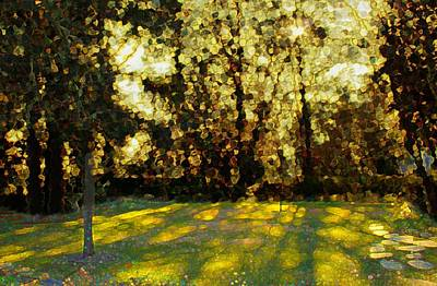 Dappled Light Mixed Media - Refrectory by Terence Morrissey