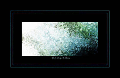 Oceans 11 Digital Art - Refresh II by Christine Nichols