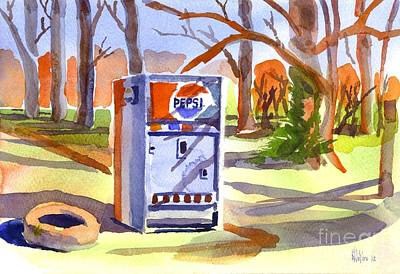 Iconic Painting - Refreshment Along Lifes Way by Kip DeVore