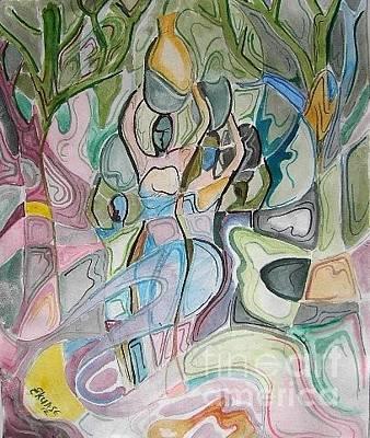 Communal Painting - Refreshment And Life by Ekuase Wilson