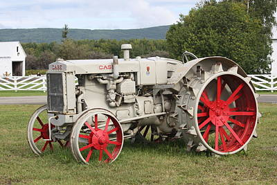 Photograph - Refurbished Tractor by Lucinda VanVleck