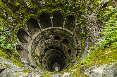 Photograph - Regaleira Initiation Well 1 by Deborah Smolinske