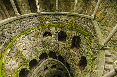 Photograph - Regaleira Initiation Well 3 by Deborah Smolinske