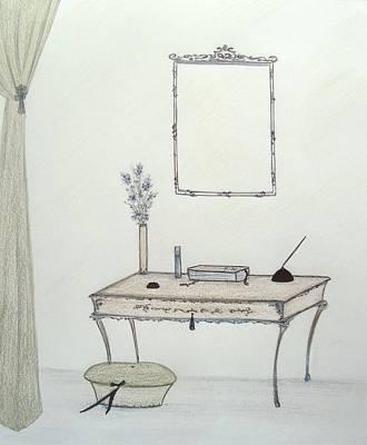 Regency Study II Original by Christine Corretti