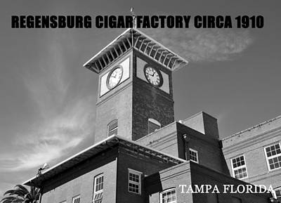 Cigar Factory Photograph - Regensburg Cigar Factory Bw Work by David Lee Thompson