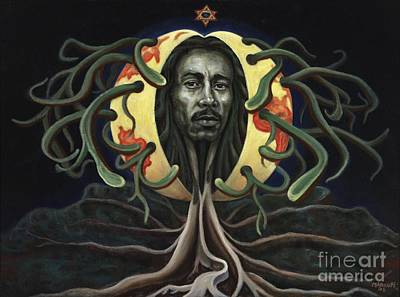 Painting - Reggae Tree by Ewan  McAnuff