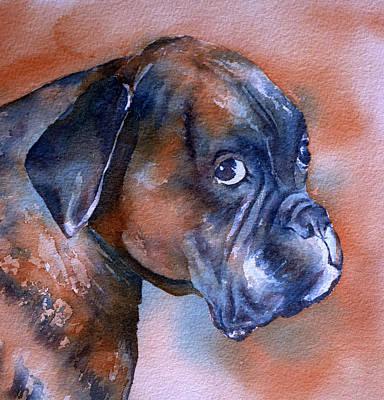 Reggie Painting - Reggie by Thomas Habermann