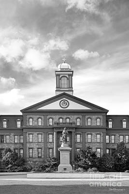 Photograph - Regis University Main Hall by University Icons