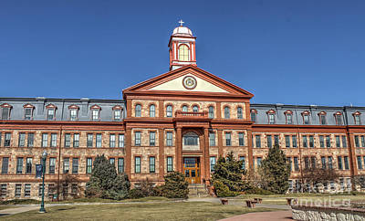Photograph - Regis University by Steven Parker