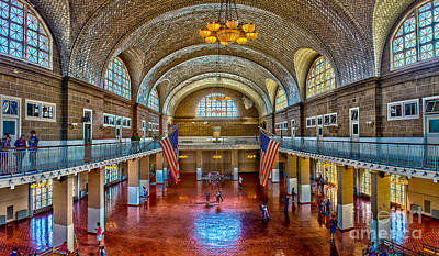 Photograph - Registration Hall by Nick Zelinsky
