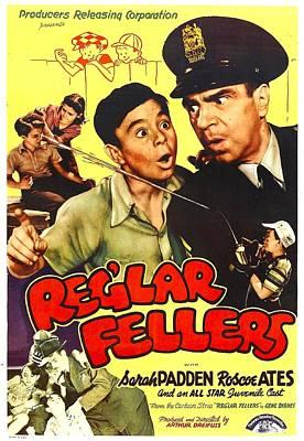 Reglar Fellers, Us Poster, Center Art Print