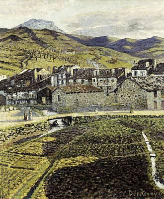 Impressionism Photograph - Regoyosdar�o De 1875-1913. Vineyard by Everett