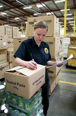 Regulations Photograph - Regulation Of Food Imports by Food & Drug Administration