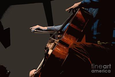 Double Bass Photograph - Rehearsing Dumbarton Oaks by David Bearden