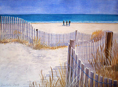 Painting - Rehoboth Beach Delaware  by Kathryn Donatelli