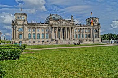 Reichstag Berlin Hdr Art Print by Alexander Drum