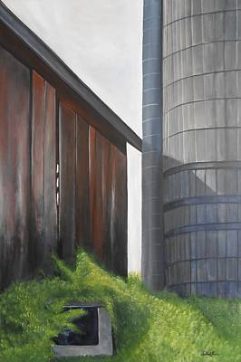 Painting - Reifsteck Farm 2 by Robert Foss