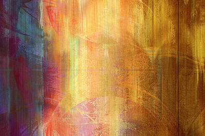 Reigning Light - Abstract Art Art Print