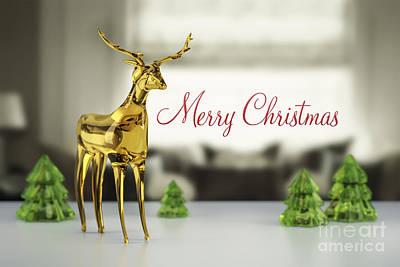 Plastic Models Digital Art - Reindeer Of Glass by Markus Gann