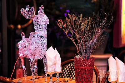 Photograph - Reindeer On The Table by John Rizzuto