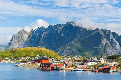 Reine In Lofoten Art Print