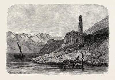 Reins Of A Koptic Monastery Near Philae Art Print