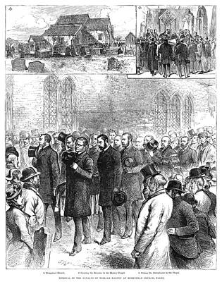 Painting - Reinterment, 1883 by Granger