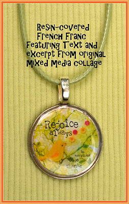 Jewelry - Rejoice Always Pendant by Carla Parris