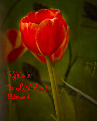 Rejoice In The Lord Art Print