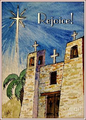Rejoice Art Print by Marilyn Smith