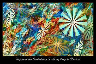 Digital Art - Rejoice by Missy Gainer