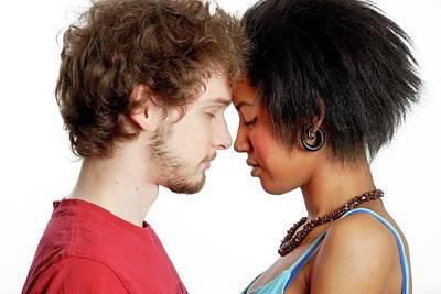 Loving Couple Wall Art - Photograph - Relationship by Aj Photo