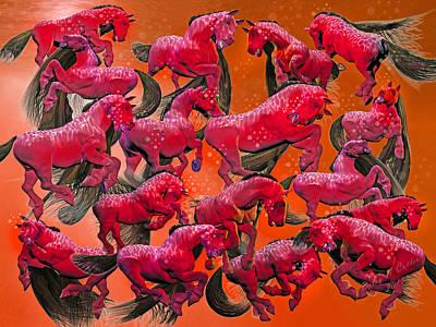 Animals Digital Art - Relative Hell by Betsy Knapp