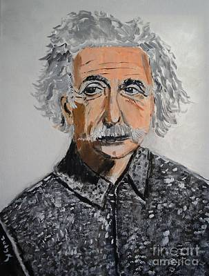 Famous People Painting - Relativity by Judy Kay