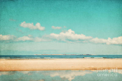 Beach Landscape Mixed Media - Relax by Angela Doelling AD DESIGN Photo and PhotoArt
