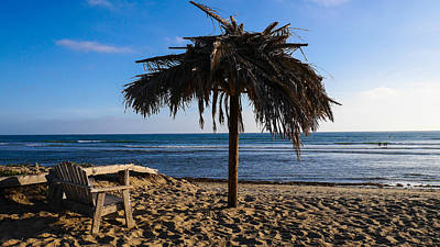 San Clemente State Beach Photograph - Relax At San Onofre - Old Mans by Richard Cheski