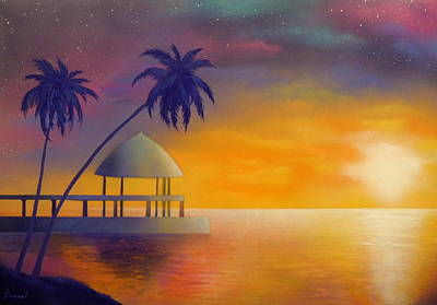 Relax Art Print by Ismael Paint