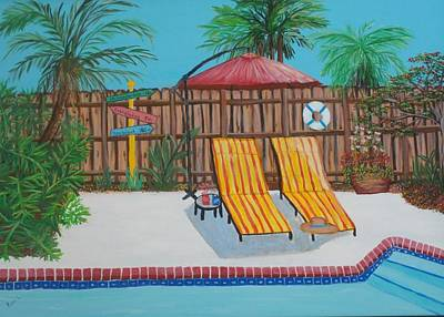 Painting - Relax Its The Weekend by Patti Lauer