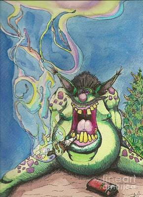 Smoke Monster Original by Ariel Torres