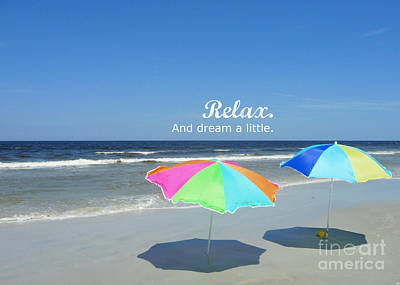 Photograph - Relax by Valerie Reeves