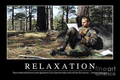 Target Threshold Watercolor - Relaxation Inspirational Quote by Stocktrek Images