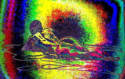 Moral Mixed Media - Relaxed Woman by Genio GgXpress