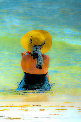 Photograph - Relaxing At The Beach by David Morefield