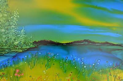 Relaxing Meadow Original by Kellie Chasse