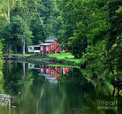 Photograph - Relaxing Pennsylvania Retreat by Adam Jewell