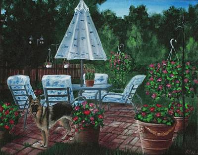 Painting - Relaxing Place by Anastasiya Malakhova