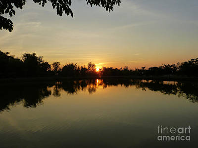 Photograph - Reflections At Dusk by Marguerita Tan