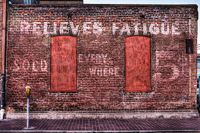 Relieves Fatigue  Art Print by Robert  FERD Frank