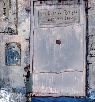 Fundamentalism Digital Art - Religia Fundamentismo by Ted Guhl
