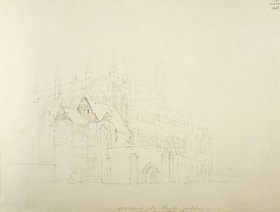 Religious Drawings Photograph - Religious Architecture by British Library